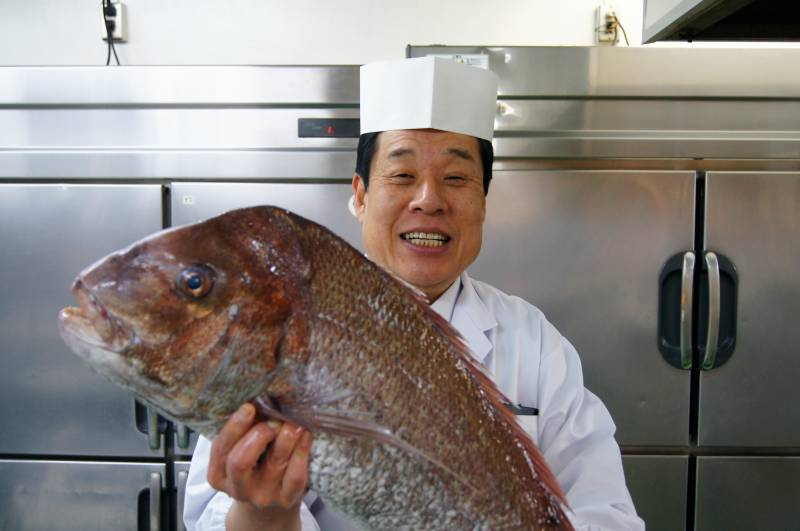 10キロの鯛!