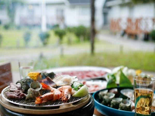 夏季限定:海鮮BBQ+ファミリービュッフェ