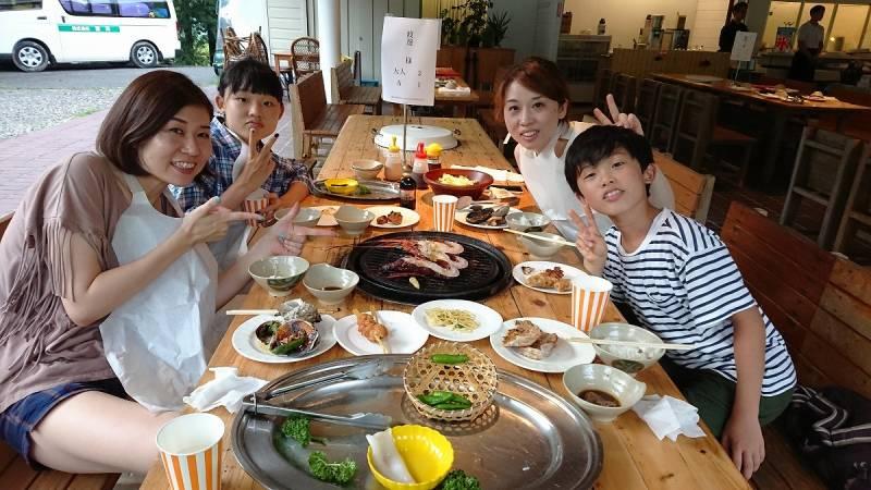 季の座【2017海鮮BBQ便り】@BBQハウスより