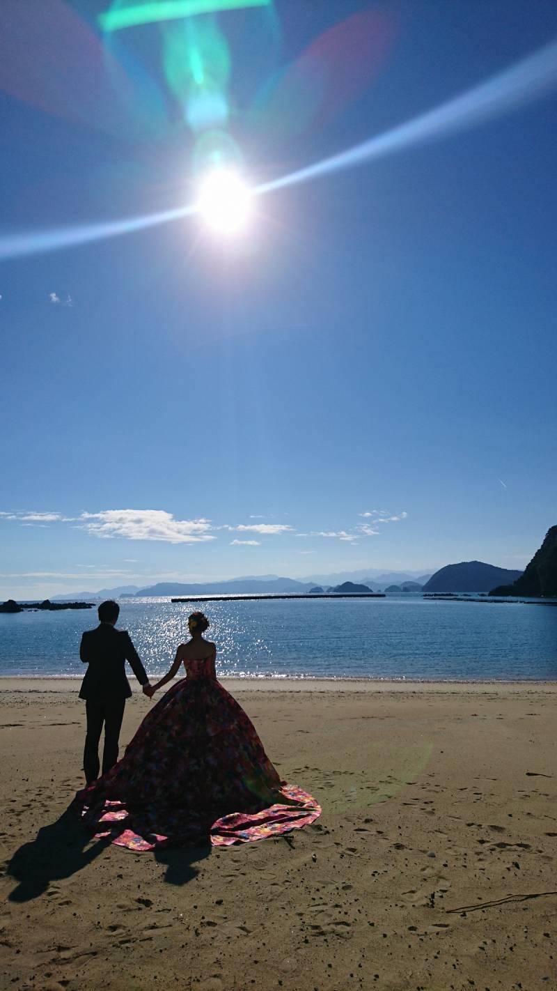 ホテルのすぐお隣、城ノ浜海岸にて。
