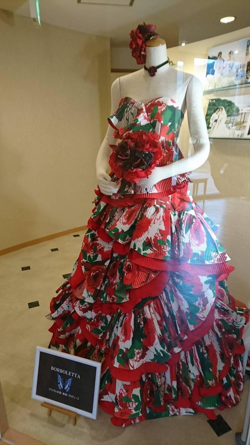 今月のドレス