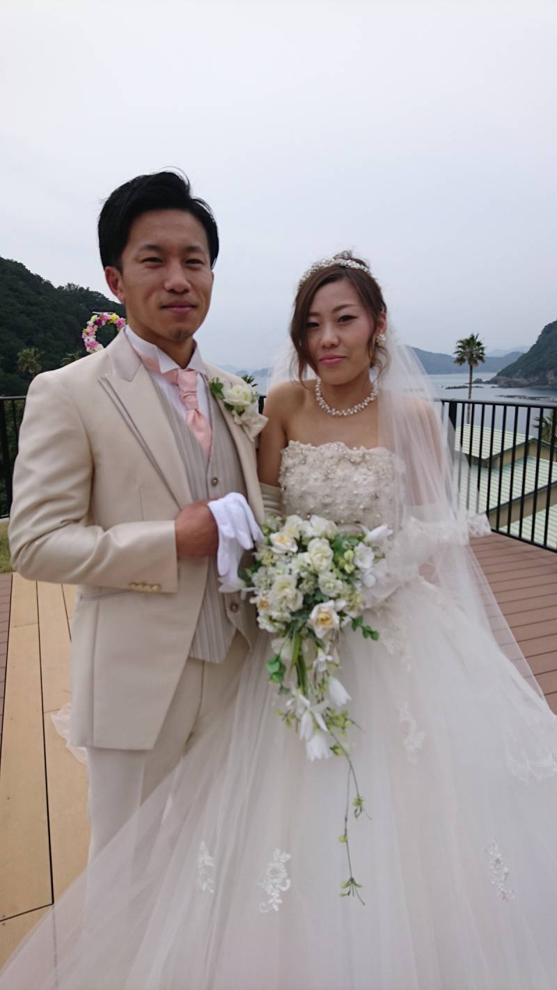 ご結婚式の様子を紹介いたします。