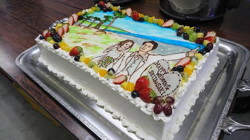 オリジナルウェディングケーキは、お二人の思い出の場所です。