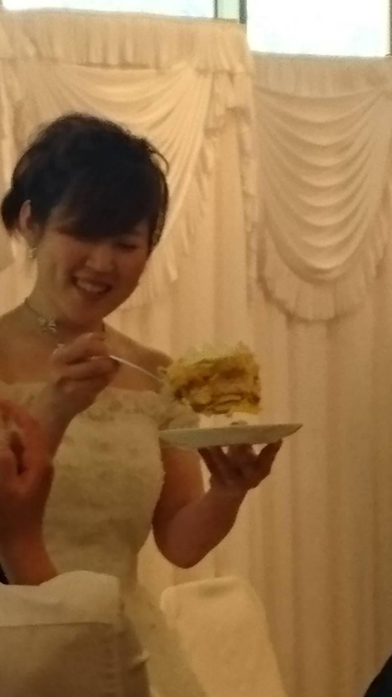 ケーキ!愛情の大きさです!