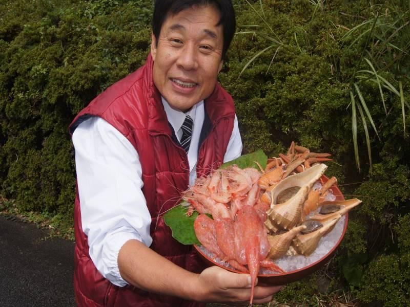 """中西総料理長が大変珍しい""""深海魚""""を仕入れました!"""