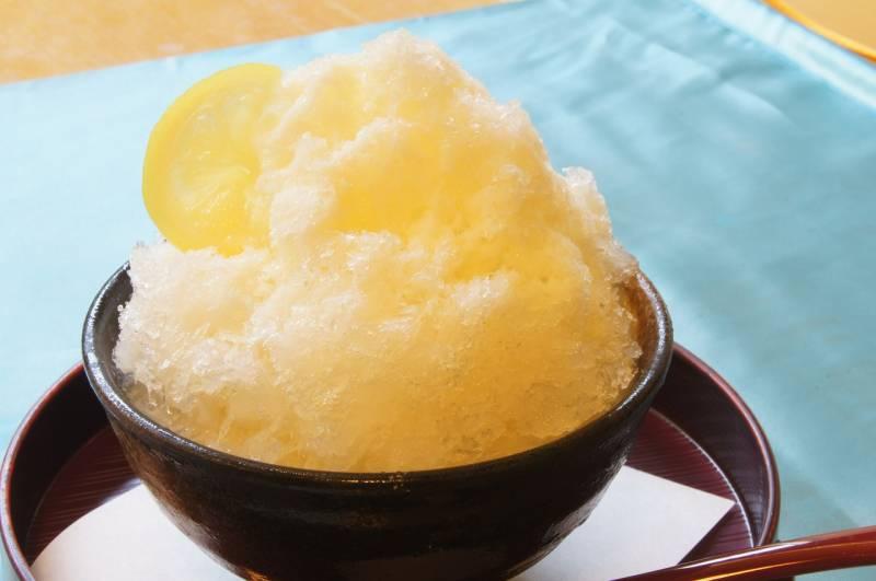 マイヤーレモンかき氷
