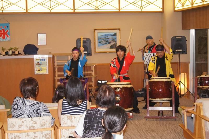 8/12・13と【ロビーコンサート】が開催されました。