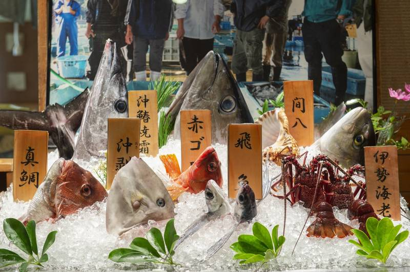 三重県の魚料理を楽しむなら【季の座】へ!夕食はお造り食べ比べ、朝食は干物食べ比べ。