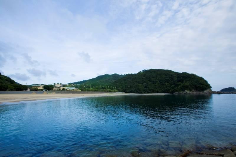 f分の1ゆらぎ ~城ノ浜海水浴場(ホテル季の座の前)~