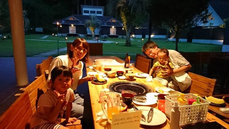 今年も夏季限定【海鮮BBQ】をお楽しみ中♪