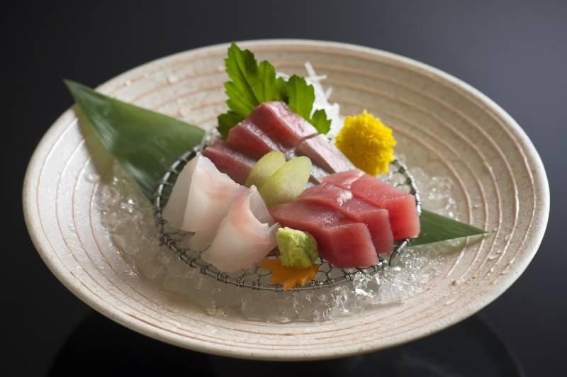 鮮魚のお造り3種盛合せ