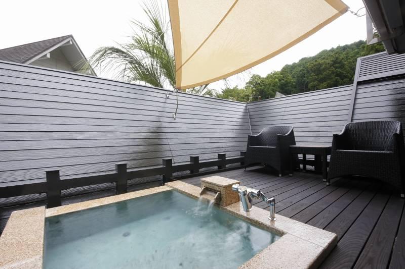 【フォレストコテージ】DLX露天風呂付き客室 ※一例